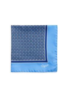 Ermenegildo Zegna Neat Silk Pocket Square