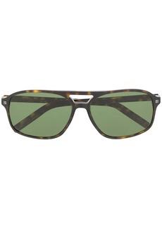 Ermenegildo Zegna oversized-frame tinted sunglasses