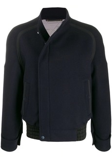 Ermenegildo Zegna oversized zipped jacket