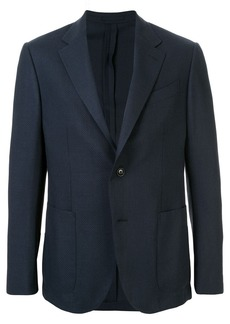 Ermenegildo Zegna Packaway patch pocket blazer