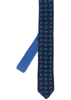 Ermenegildo Zegna paisley embroidered tie