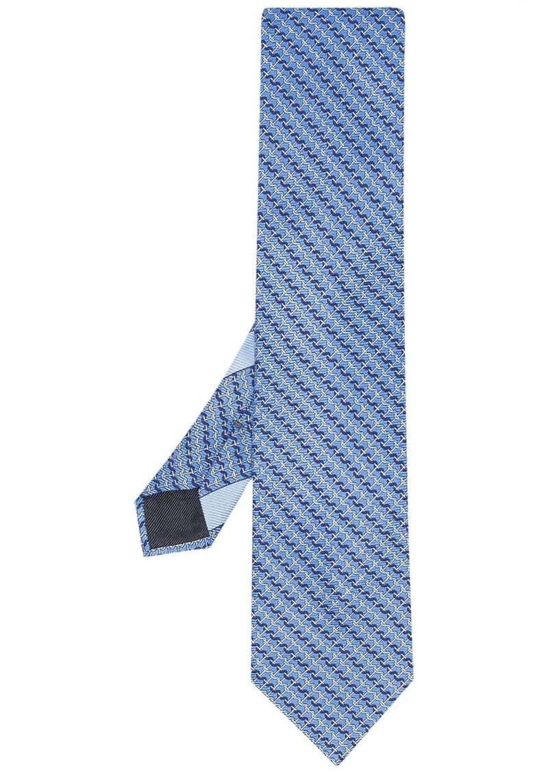 Ermenegildo Zegna patterned pointed tie