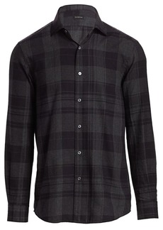 Ermenegildo Zegna Plaid Shirt