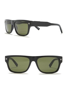 Ermenegildo Zegna Retro Square 56mm Sunglasses