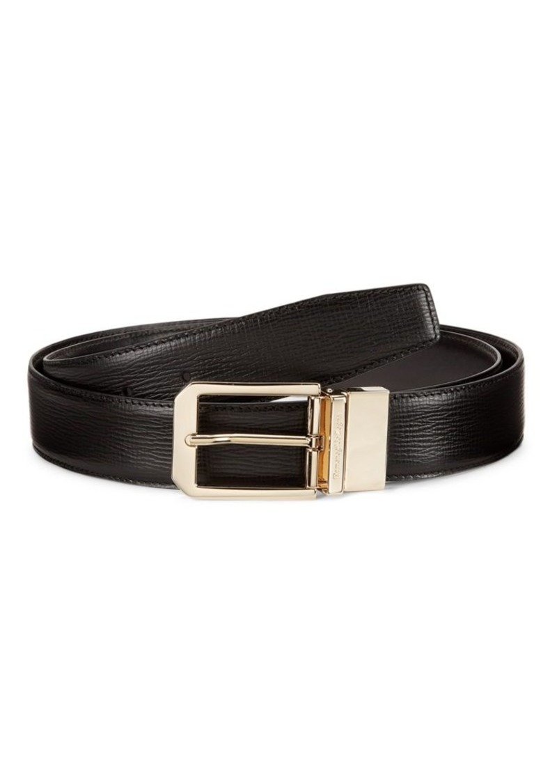 Ermenegildo Zegna Reversible Leather Belt