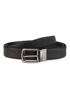Ermenegildo Zegna Reversible Leather Belt