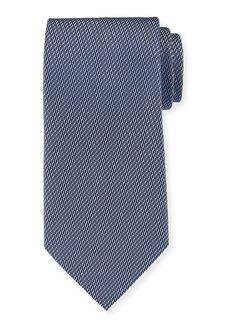 Ermenegildo Zegna Rope Weave Silk Tie