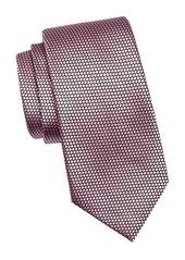 Ermenegildo Zegna Silk Diamond Pattern Tie
