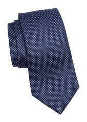 Ermenegildo Zegna Silk Double Dot Tie
