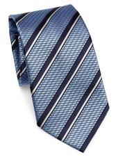 Ermenegildo Zegna Silk Double Stripe Tie
