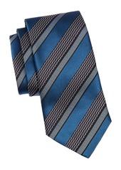 Ermenegildo Zegna Silk Stripe Tie