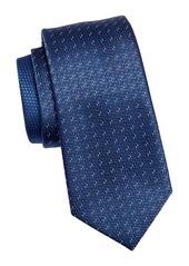 Ermenegildo Zegna Silk Tonal Weave Tie