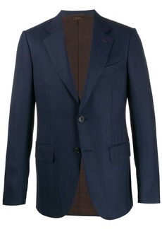 Ermenegildo Zegna single-breasted formal jacket