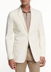 Ermenegildo Zegna Soft Stretch-Cotton Sport Jacket  Light Beige