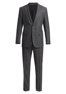 Ermenegildo Zegna Solid Cashmere & Silk Suit