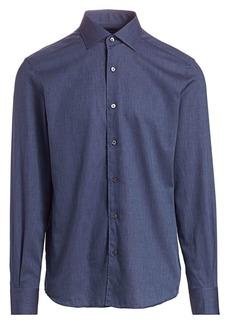 Ermenegildo Zegna Solid Shirt