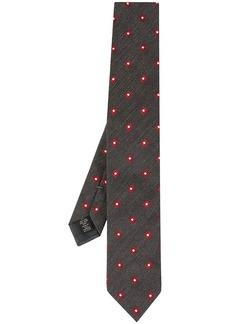 Ermenegildo Zegna square micro pattern tie