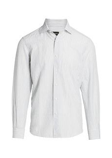 Ermenegildo Zegna Striped Dress Shirt