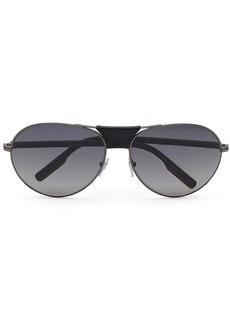 Ermenegildo Zegna gradient aviator-frame sunglasses