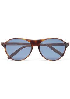 Ermenegildo Zegna round-frame sunglasses