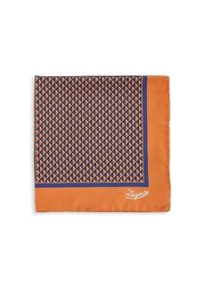 Ermenegildo Zegna Triangle Silk Pocket Square