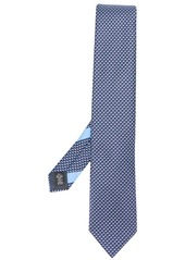 Ermenegildo Zegna triangular patterned tie