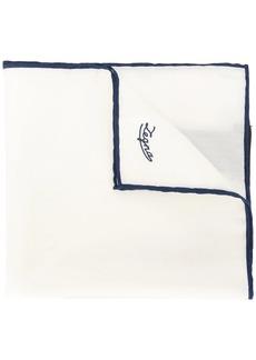 Ermenegildo Zegna trimmed pocket square
