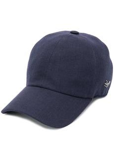 Ermenegildo Zegna logo-plaque baseball hat
