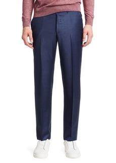 Ermenegildo Zegna Wool Button-Tab Pants