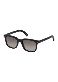 Ermenegildo Zegna Zegna 51mm Square Sunglasses