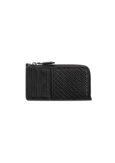 Ermenegildo Zegna Zip Leather Wallet