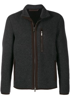 Ermenegildo Zegna zipped-up bomber jacket