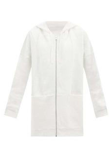 Ernest Leoty Mia oversized organic-cotton hooded sweatshirt