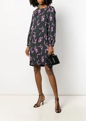 Escada all-over print dress
