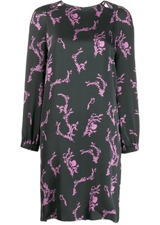Escada all-over print dress