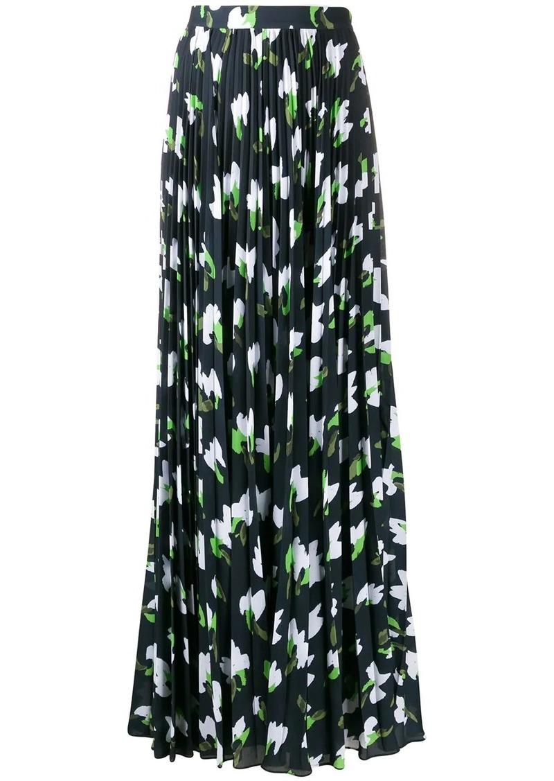 Escada all-over print skirt