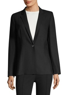 Escada Baki Side Slit Wool Jacket