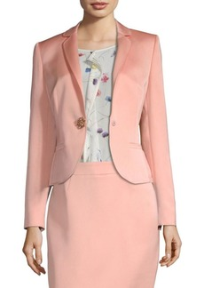 Escada Bastaro Duchess Satin Jacket