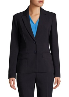 Escada Baylo2 Two-Button Wool-Blend Blazer