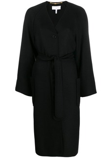 Escada belted robe coat