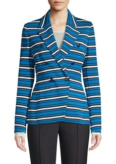 Escada Beskari Double-Breasted Blazer Jacket