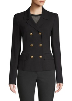 Escada Beyo Jersey Double-Breast Jacket