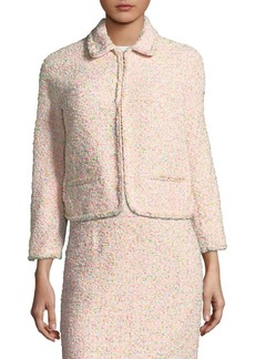Escada Birisi Funfetti Tweed Jacket