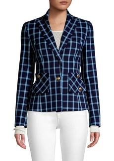 Escada Boshan Window Pane Jacket