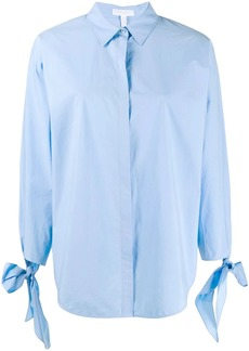 Escada bow detail shirt