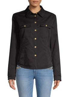 Escada Button Shirt Jacket