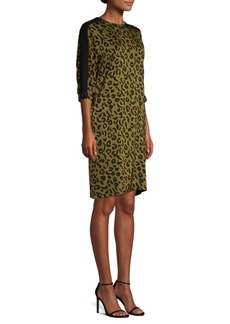 Escada Cheetah Print Dress