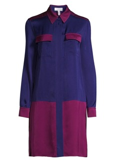 Escada Colorblock Shirtdress