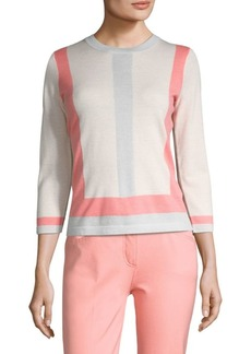 Escada Colorblock Sweater