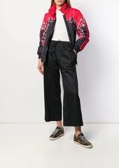 Escada contrast print jacket